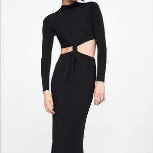 NWT Zara cut out midi dress